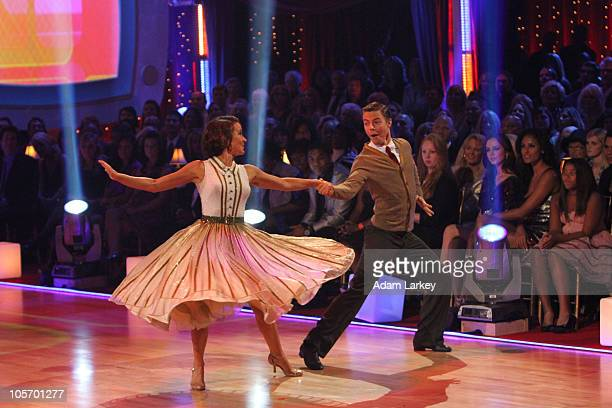 STARS 'Episode 1105' This week on 'Dancing with the Stars' it's TV theme night as eight remaining couple did the Quickstep Tango Rumba Foxtrot and...