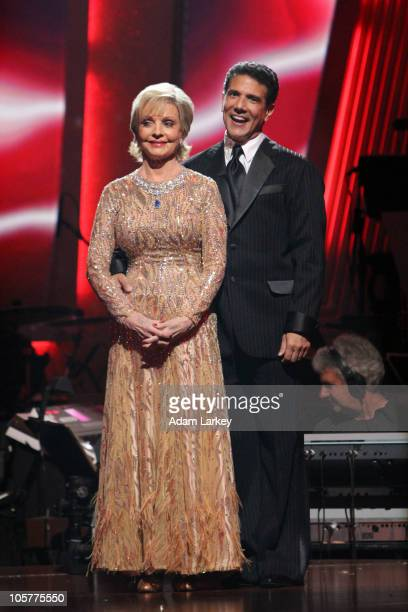 SHOW 'Episode 1105A' The fifth couple to be eliminated this season Florence Henderson and Corky Ballas was sent home on 'Dancing with the Stars the...