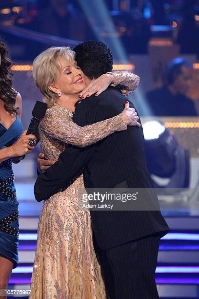 SHOW Episode 1105A The fifth couple to be eliminated this season Florence Henderson and Corky Ballas was sent home on Dancing with the Stars the...