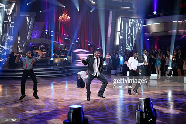 SHOW Episode 1105A The fifth couple to be eliminated this season was sent home on Dancing with the Stars the Results Show TUESDAY OCTOBER 19 on the...