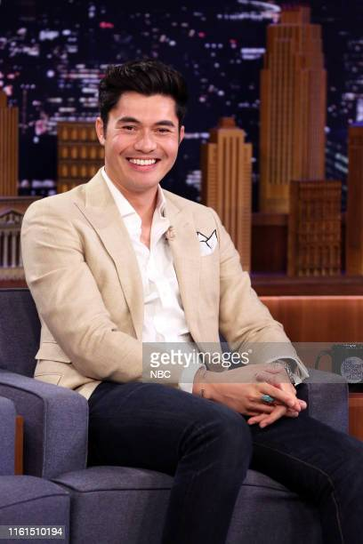 Actor Henry Golding during an interview on August 13 2019