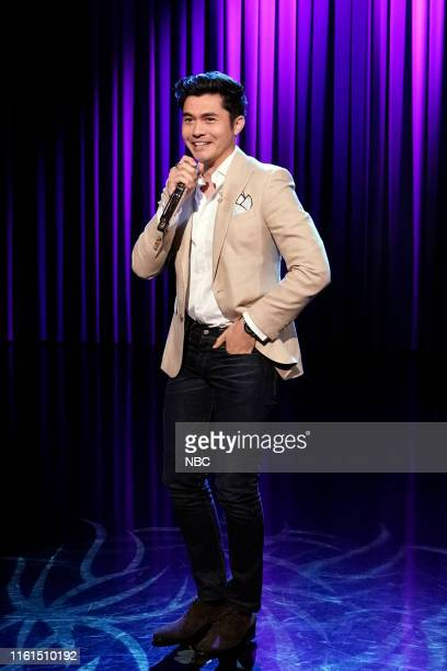 Actor Henry Golding sings Sexual Healing on August 13 2019