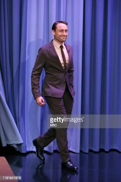 Actor Kieran Culkin arrives to the show on August 14 2019