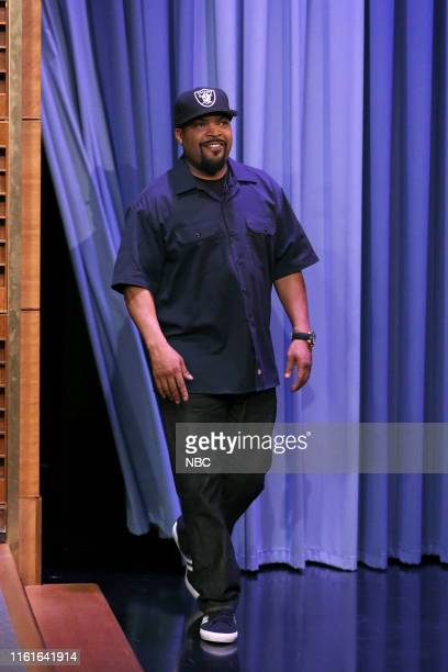 Rapper Ice Cube arrives to the show on August 14 2019