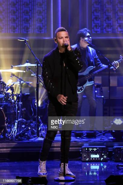 Musical guest Kane Brown performs on September 8 2019
