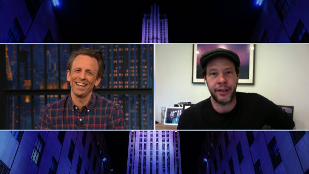 "NY: NBC'S ""Late Night with Seth Meyers"" With Guests Ike Barinholtz, Lilly Singh"