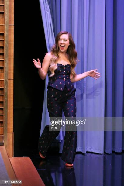 Episode 1115 -- Pictured: Actress Billie Lourd arrives to the show on September 9, 2019 --