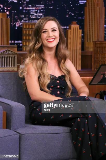 Actress Billie Lourd during an interview on September 9 2019