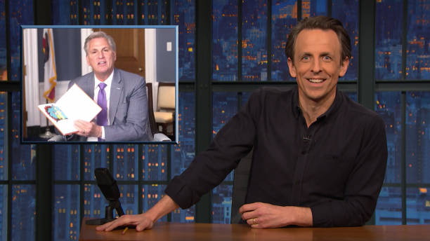 "NY: NBC'S ""Late Night With Seth Meyers"" With Guests Eddie Murphy, Guy Fieri (Band Sit-In: John Herndon)"