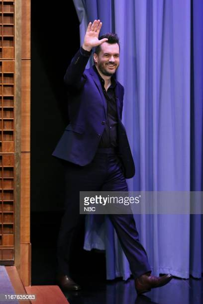 Comedian Jim Jefferies arrives to the show on September 12 2019