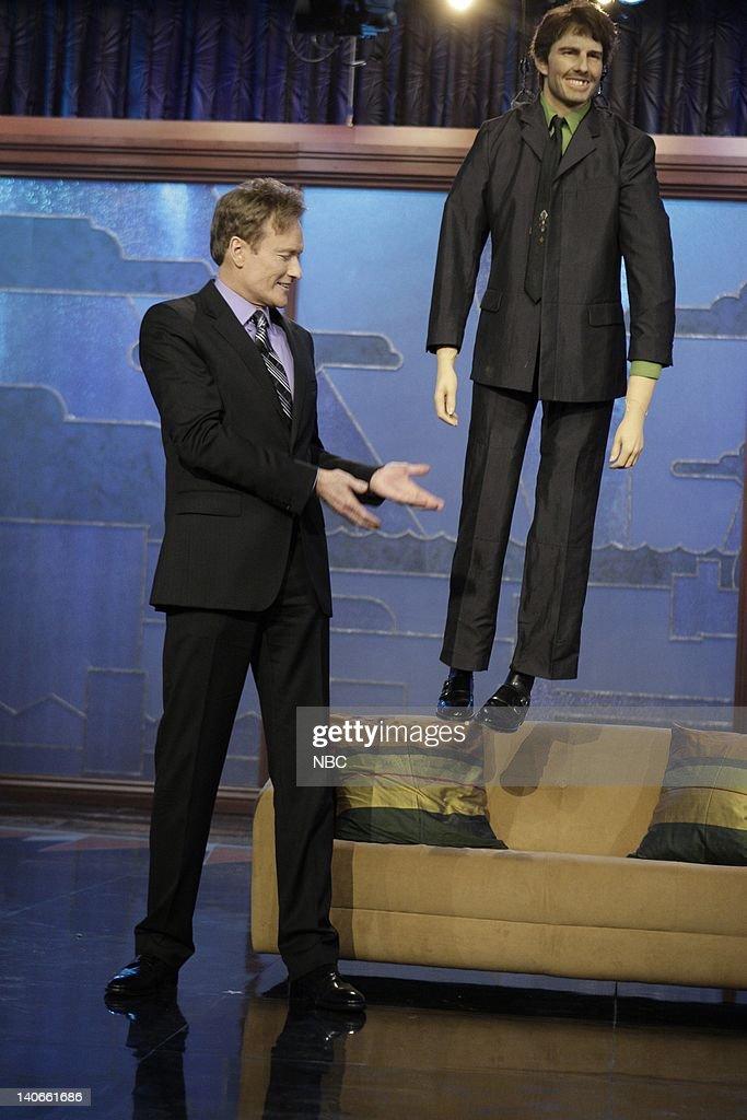 The Tonight Show with Conan O'Brien : News Photo