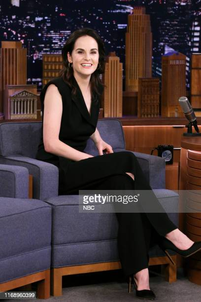 Actress Michelle Dockery during an interview on September 17 2019