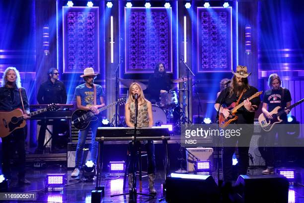 Musical guest Sheryl Crow featuring Chris Stapleton performs on September 20 2019