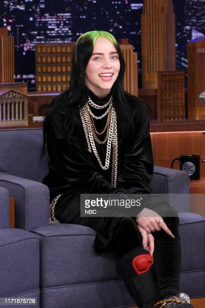 Singersongwriter Billie Eilish during an interview on September 27 2019