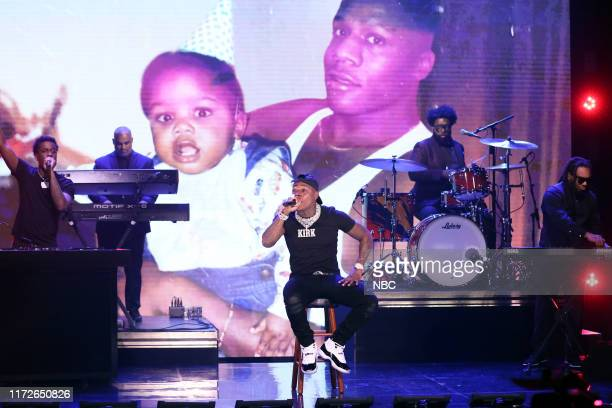 Musical guest DaBaby performs on September 30 2019