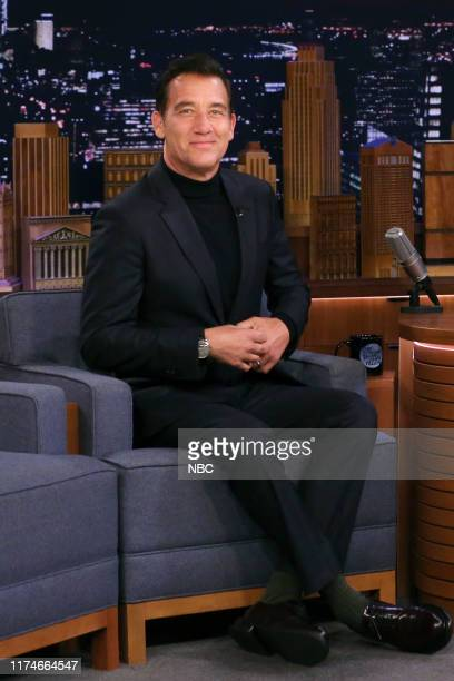 Actor Clive Owen during an interview on October 8 2019