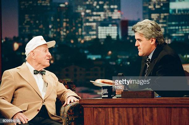 Aeronautical engineer Charlie Kaman during an interview with host Jay Leno on May 1 1997