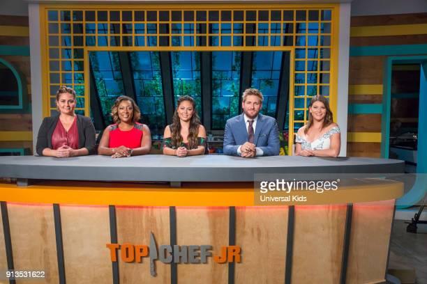 JUNIOR Episode 114 Finale Pictured Guest Judge Antonia Lofaso Guest Judge Tiffany Derry Host Vanessa Lachey Head Judge Curtis Stone Guest Judge Gail...