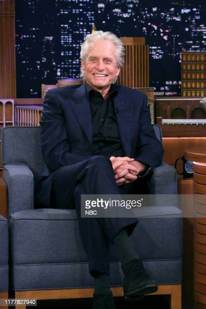 Episode 1142 -- Pictured: Actor Michael Douglas during an interview on October 23, 2019 --