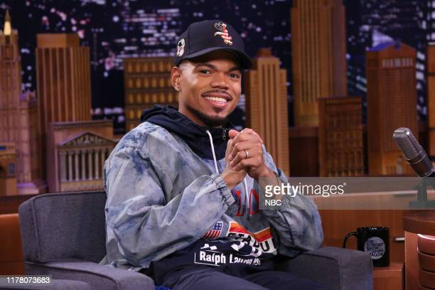 Episode 1143 -- Pictured: Chance The Rapper during an interview on October 24, 2019 --