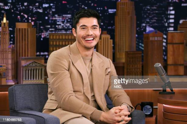 Actor Henry Golding during an interview on November 6 2019
