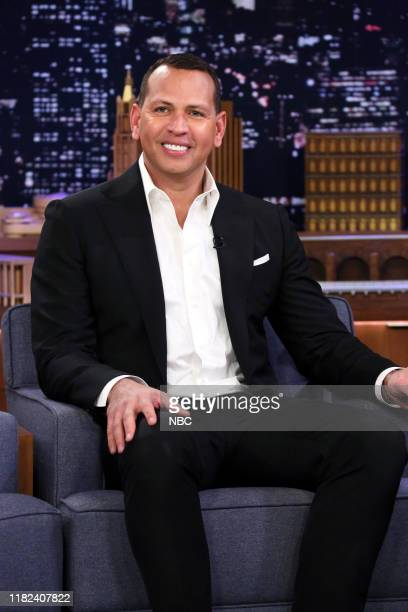 Episode 1156 -- Pictured: Former baseball player Alex Rodriguez during an interview on November 14, 2019 --