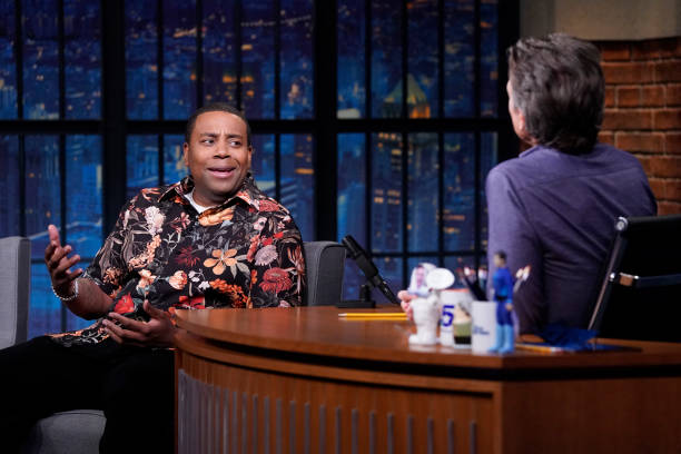 """NY: NBC'S """"Late Night With Seth Meyers"""" With Guests Kenan Thompson, Juno Temple, MARINA (Band Sit-In: Stevie Nistor)"""