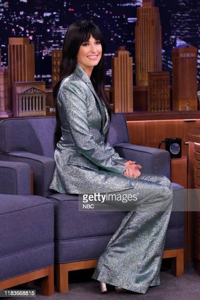Singer Kacey Musgraves during an interview on November 20 2019