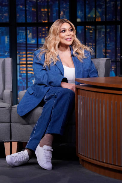 """NY: NBC'S """"Late Night With Seth Meyers"""" With Guests Wendy Williams, Paul Rabil (Band Sit-In: Stevie Nistor)"""