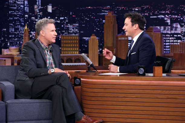 "NY: NBC'S ""Tonight Show Starring Jimmy Fallon"" With Guests Will Ferrell, Alan Cumming, Jessica Kirson"