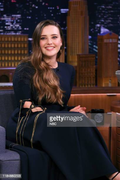 Actress Katherine Langford during an interview on November 26 2019