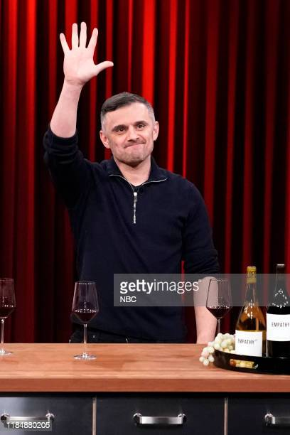 Entrepreneur Gary Vaynerchuk during a Wine Demo on November 26 2019