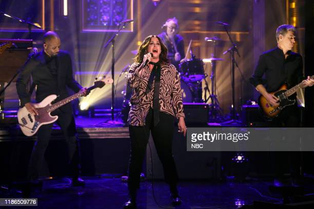 Musical guest Alanis Morissette performs on December 4 2019