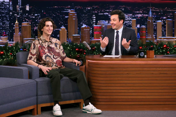 "NY: NBC'S ""Tonight Show Starring Jimmy Fallon"" With Guests Timothée Chalamet, Ashley Graham, Bong Joon Ho, SUMMER WALKER"