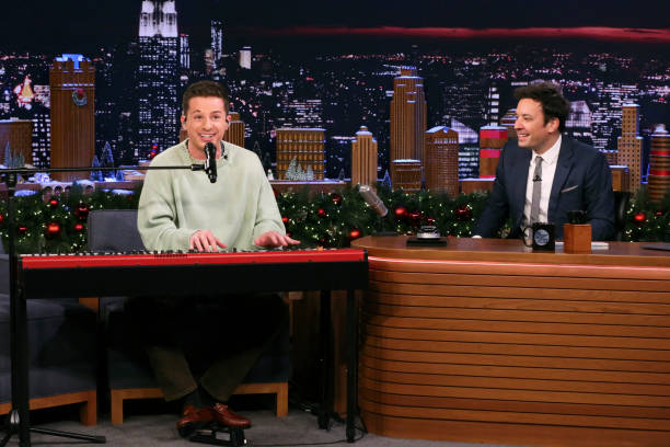"NY: NBC'S ""Tonight Show Starring Jimmy Fallon"" With Guests Hasan Minhaj, Charlie Puth, CHARLIE PUTH"