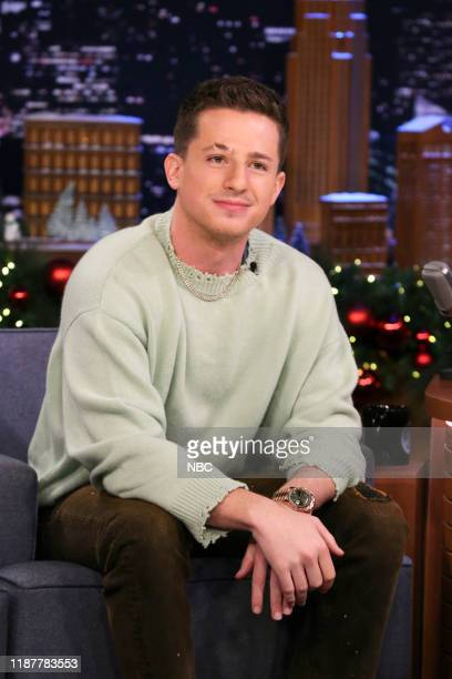Episode 1173 -- Pictured: Musician Charlie Puth during an interview on December 10, 2019 --