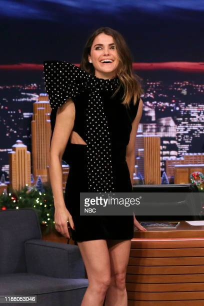 Actress Keri Russell arrives to the show on December 11 2019
