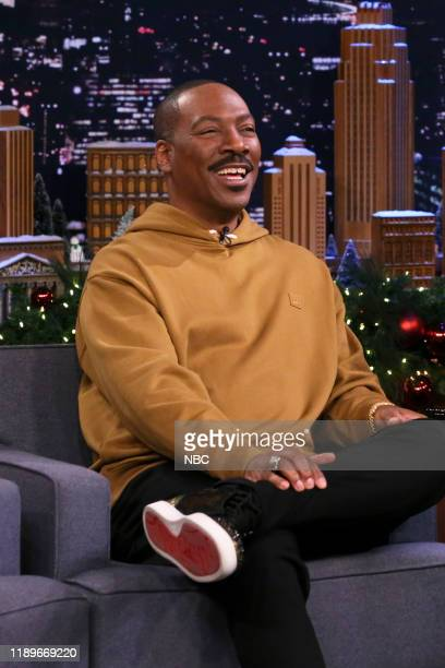 Episode 1180 -- Pictured: Actor Eddie Murphy during an interview on December 20, 2019 --