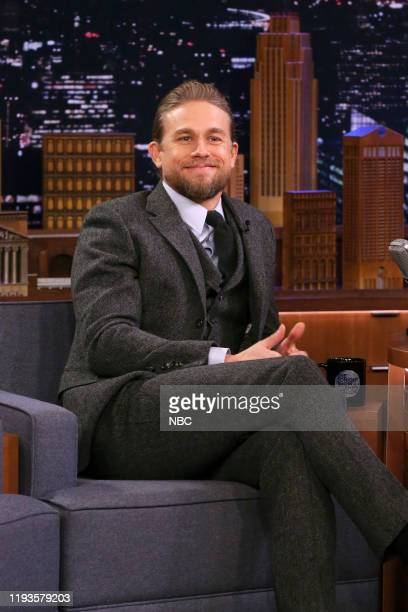 Episode 1186 -- Pictured: Actor Charlie Hunnam during an interview on January 13, 2020 --