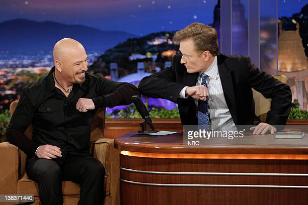 BRIEN Episode 119 Pictured Howie Mandell during an interview with host Conan O'Brien on December 7 2009