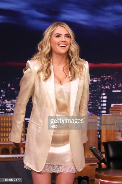 Model Kate Upton arrives to the show on January 20 2020