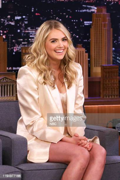 Model Kate Upton during an interview on January 20 2020