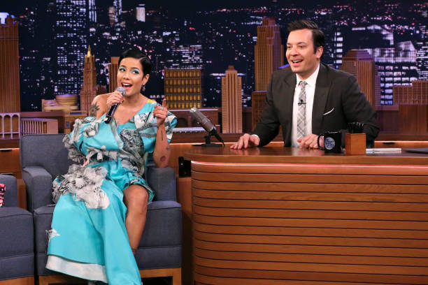 "NY: NBC's ""Tonight Show Starring Jimmy Fallon"" With Guests Halsey, Leslie Jones, Claire Saffitz"