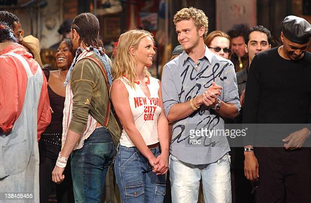 LIVE Episode 12 Air Date Pictured Britney Spears Justine Timberlake on February 2 2002