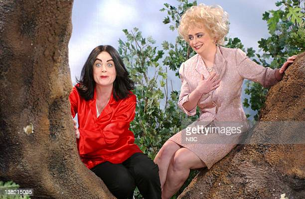 LIVE Episode 12 Aired Pictured Amy Poehler as Michael Jackson Rachel Dratch as Elizabeth Taylor during Michael Jackson in a Tree skit