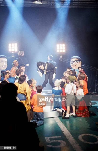 Chris Rock as Michael Jackson during the 'SNL Halftime Spectacular' skit on February 6 1993