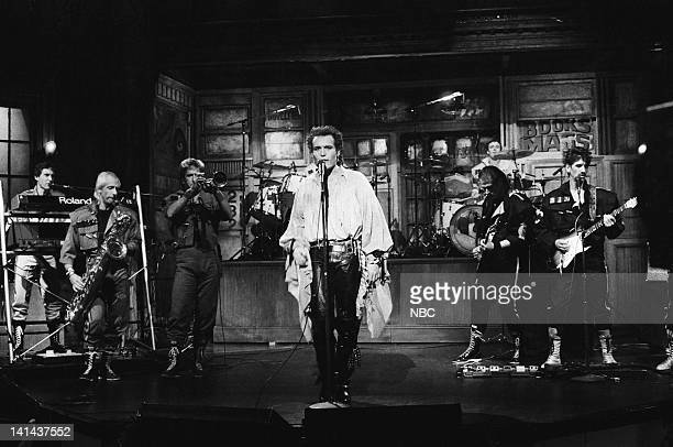 Musical guest Adam Ant performs on February 11 1984 Photo by Al Levine/NBC/NBCU Photo Bank