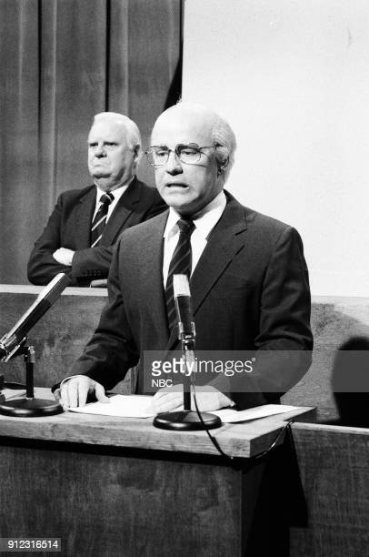 Phil Hartman as Mikhail Gorbachev during 'Soviet Central Committee' skit on February 10 1990