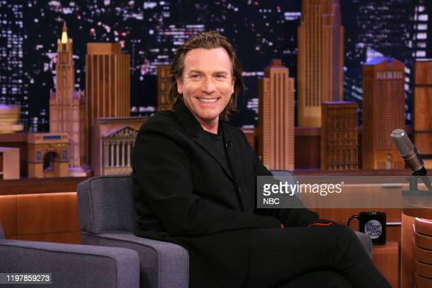 Actor Ewan McGregor during an interview on January 31 2020