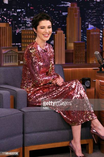 Episode 1201 -- Pictured: Actress Mary Elizabeth Winstead during an interview on February 3, 2020 --